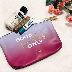 Handbags - Good Vibes Cosmetic Bag